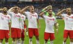 UEFA'dan Milli Takım'a 50 bin euro asker selamı cezası