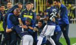 Fenerbahçe - Beşiktaş derbisinde galibiyet ev sahibinin oldu