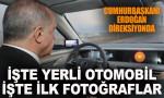 Türkiye'nin otomobilinden ilk fotoğraflar