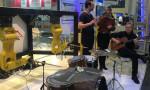 Bateri çalan robotun konseri, izleyenleri şaşırttı