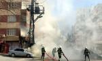 Şanlıurfa'da elektrik trafosunda patlama meydana geldi