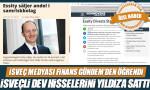 İsveç medyası Finans Gündem'den öğrendi: İsveçli dev, hisselerini Yıldız'a sattı