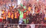 Galatasaray şampiyonluğunu kutladı