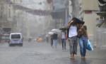 İstanbul'un iki ilçesi için sağanak uyarısı