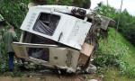 Giresun'da minibüs dereye yuvarlandı: 5 ölü, 6 yaralı