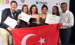 Liseli girişimciler Avrupa Şampiyonu oldu