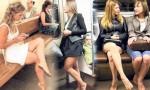 Rusya'da kadınların yeni trendi: Yalın ayakla seyahat