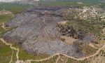 Muğla'daki orman yangını drone ile görüntülendi