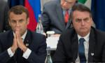 Bolsonaro Macron'u sömürgecilikle suçladı