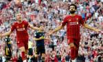 Liverpool rekor kırdı, Salah büyüledi