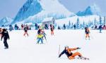 Çin'de yapay kayak merkezine büyük ilgi