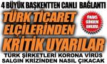 Ticaret Başmüşavirliklerinden Türk firmalarına kritik uyarı