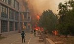 KKTC'de büyük yangın... ODTÜ kampüsüne ulaştı