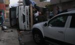 Tarım işçilerini taşıyan servis araçları çarpıştı! Yaralılar var