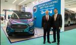 Türkiye'nin ilk ve tek yerli hibrit aracı Ankara'da test edildi