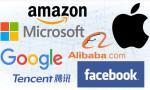 En büyük dört teknoloji şirketinin her biri bir trilyon doların üzerinde değere sahip