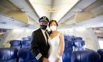 Düğünler gökyüzüne taşındı