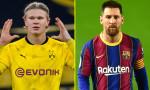 Messi'nin Haaland fedakarlığı