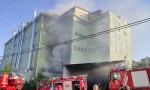 İstanbul'da kumaş fabrikasında yangın