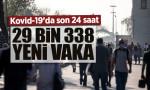 Günlük Kovid-19 verileri açıklandı: 29 bin 338 yeni vaka, 260 vefat