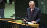 BM'de konuşan Erdoğan'dan yerli aşı açıklaması