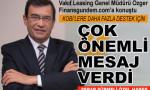 Osman Zeki Özger'den çarpıcı açıklamalar