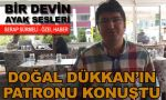 İstanbul'un göbeğinde 'Doğal Dükkan'