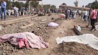 Katliam gibi kaza: Mısır'da tren raydan çıktı