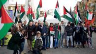 Hollanda'da İsrail hapishanelerindeki Filistinliler için gösteri