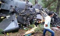 Genelkurmay: Helikopter hava koşulları yüzünden düştü
