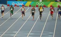 Milli sporcumuz Guliyev 200 metrede finale yükseldi