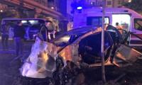 İzmir'de polislerin kullandığı araç kaza yaptı: 2 ölü 3 yaralı