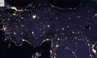 NASA'nın gece çektiği çarpıcı görüntüler