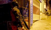 İstanbul'da gece yarısı terör operasyonu