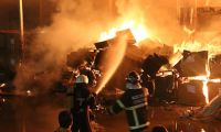 Kocaeli'de büyük fabrika yangını