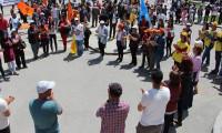 Sivas'ta 300 kişi 1 Mayıs'ı kutladı