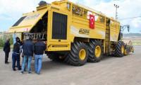Sivas'a devasa makine geldi