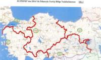MİT Raporunda Yer Alan, FETÖ'nün Harita ve Şeması,ülkeyi 5'e bölmüşler