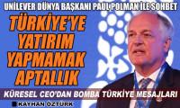 Unilever Dünya Başkanı Polman'dan Türkiye mesajları