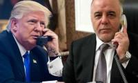 Trump'tan Irak Başbakanı İbadi'ye tebrik telefonu