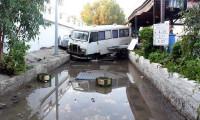 Bodrum'da 10 santim tsunami ölçüldü