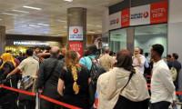 Dolu yüzünden seferler iptal oldu, yolcular otellere yerleştirildi