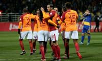 Galatasaray hem kazandı, hem turladı