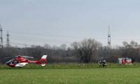 Almanya'da uçak ve helikopter çarpıştı