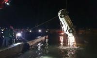 Polis devriye aracı denize düştü! 1 şehit