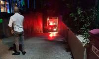 Kuşadası'nda otel yangını paniğe neden oldu