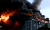 Esenyurt'taki büyük yangınla ilgili iki gözaltı
