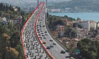 Yüzlerce motosikletli Şehitler Köprüsü'nden böyle geçti
