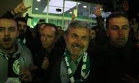 Aykut Kocaman'a Konya'da coşkulu karşılama