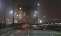 Haliç'teki 3 köprü 1 saat trafiğe kapalı kaldı